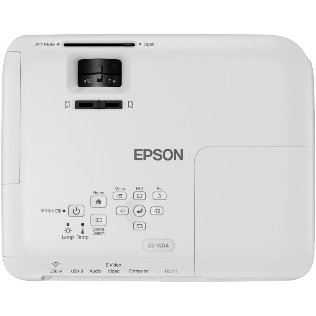 Проектор EPSON EB-W04 (V11H718040) изображение 6