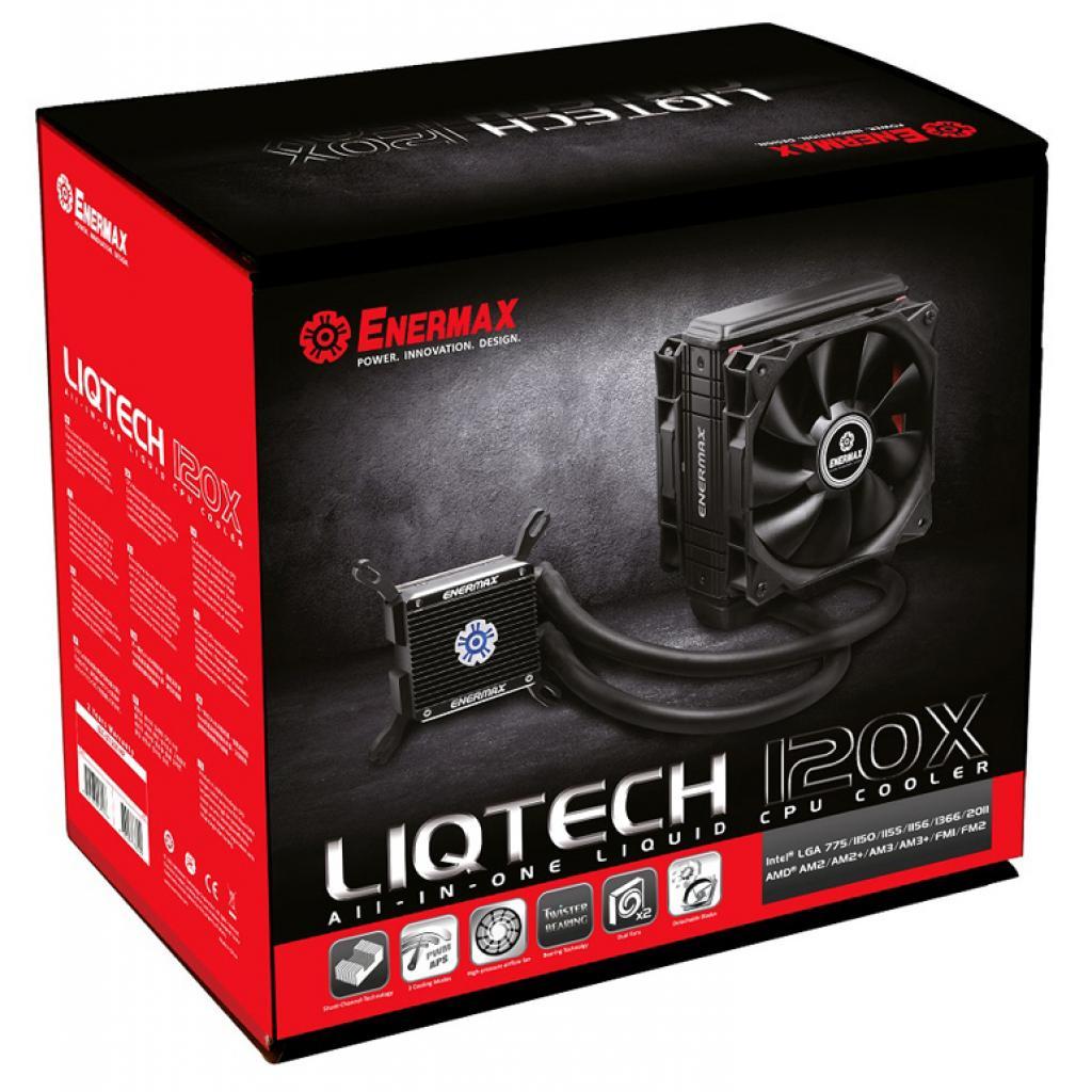 Кулер для процессора ENERMAX Liqtech 120X (ELC-LT120X-HP) изображение 8