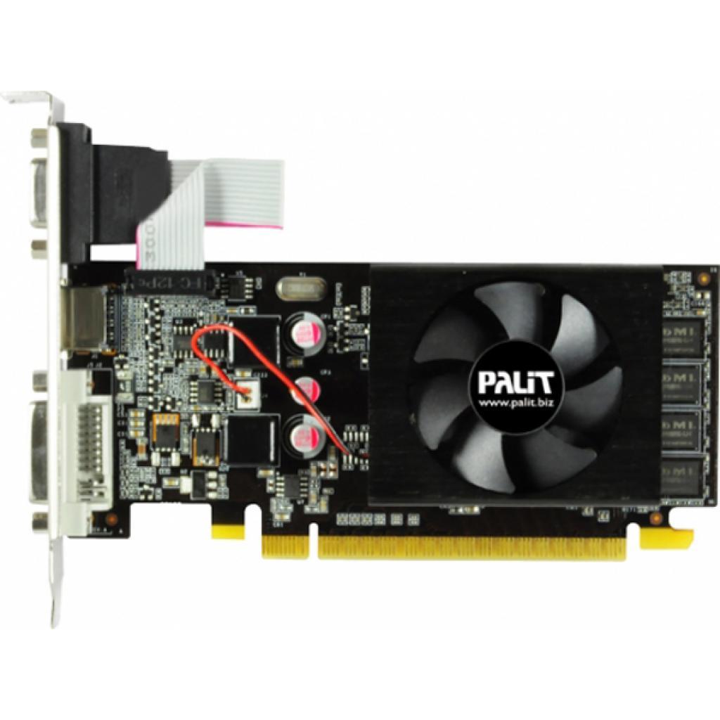 Видеокарта GeForce GT610 2048Mb PALIT (NEAT6100HD46-1196F)