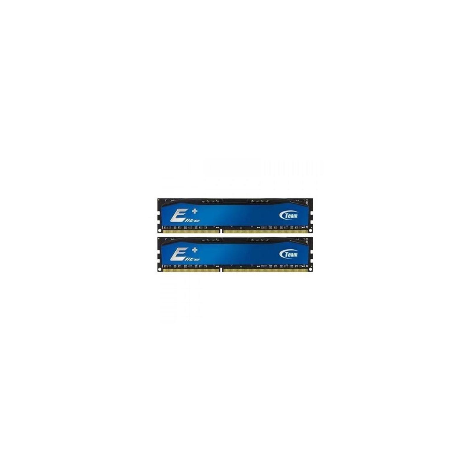 Модуль памяти для компьютера DDR4 16GB (2x8Gb) 2400 MHz Elite Plus Blue Team (TPBD416G2400HC16DC01)