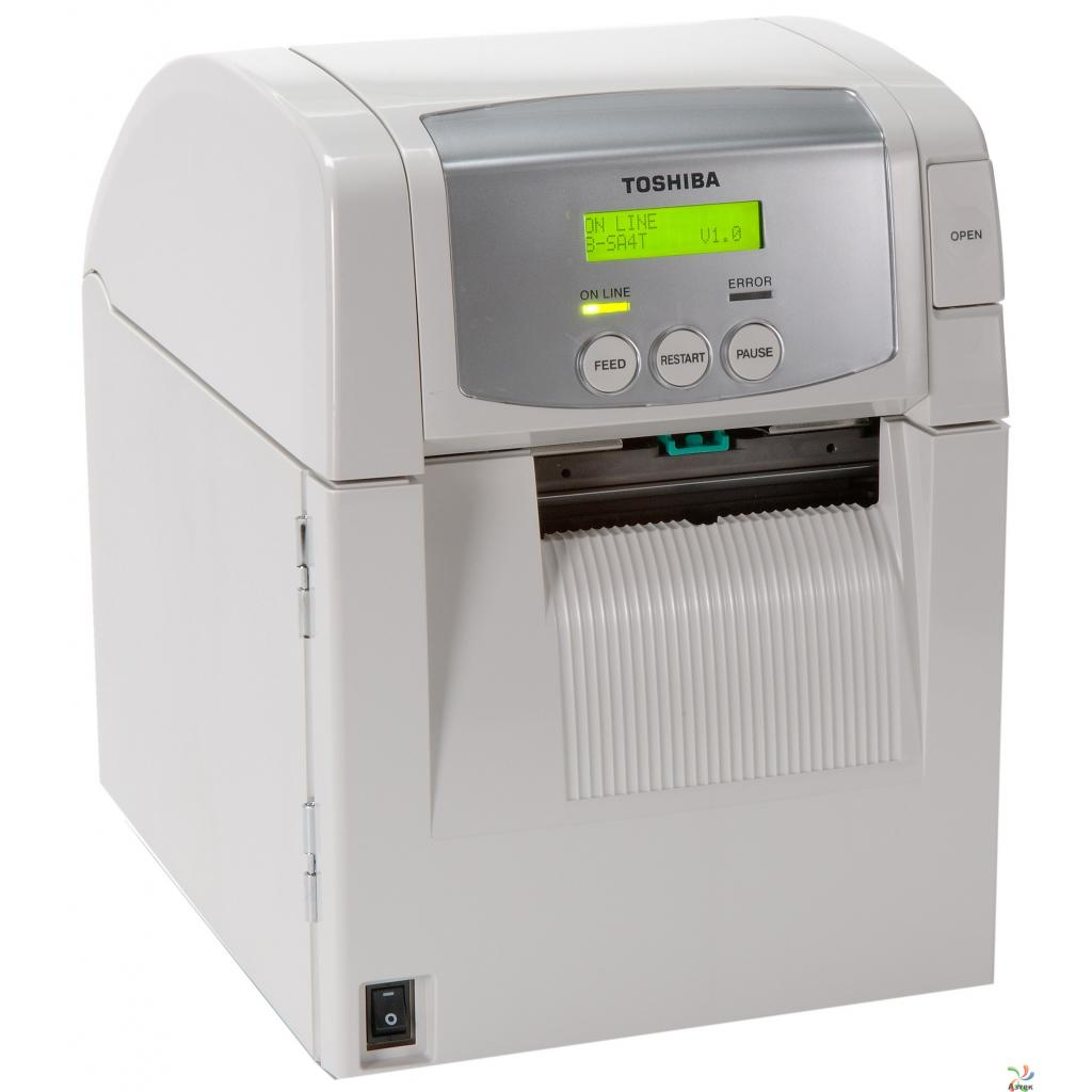 Принтер этикеток TOSHIBA B-SA4TP-GS12-QM-R 203 dpi (18221168675) изображение 2