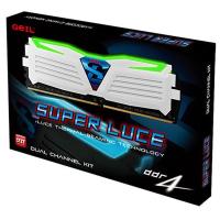Модуль памяти для компьютера DDR4 8GB (2x4GB) 2400 MHz Super Luce White GEIL (GLWG48GB2400C16DC)