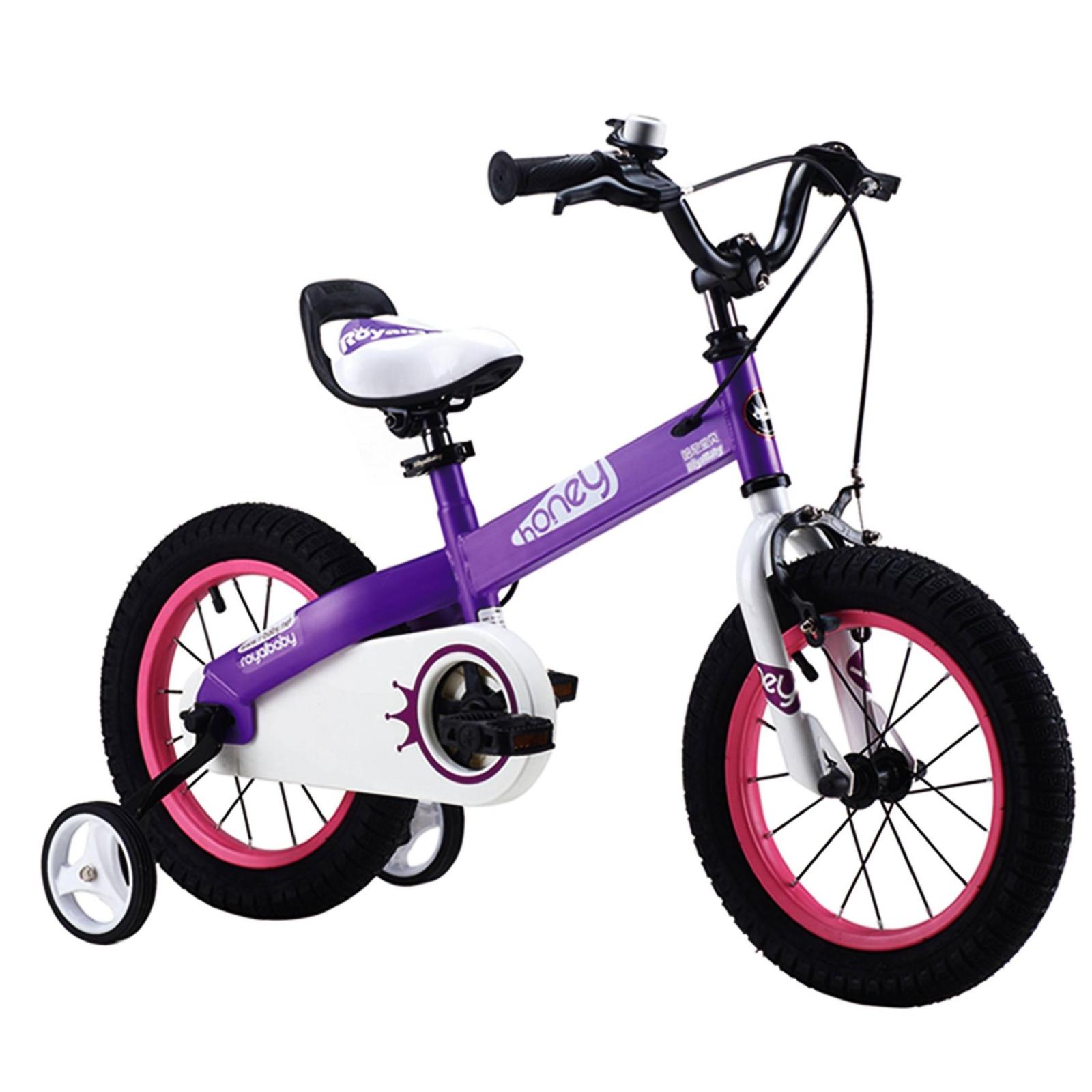 """Детский велосипед Royal Baby HONEY 16"""", фиолетовый (RB16-15-PRL)"""