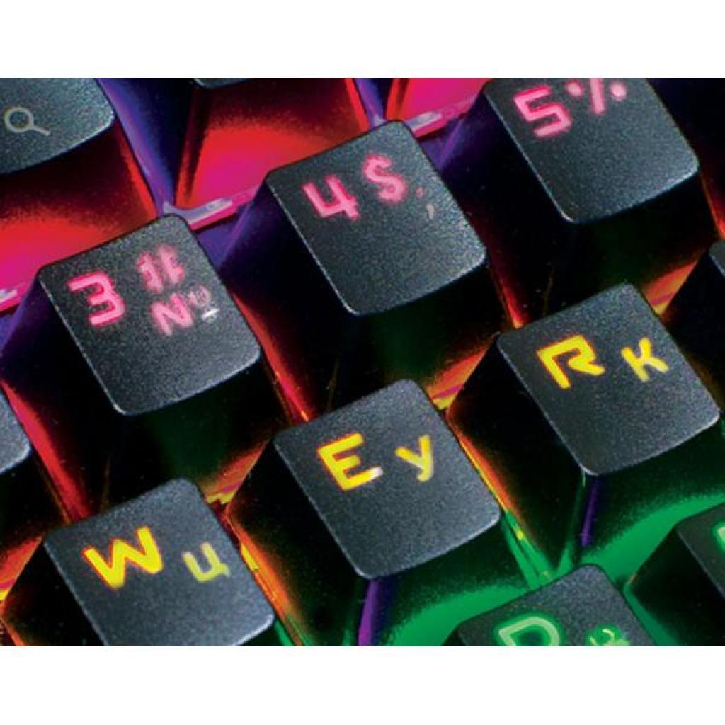 Клавіатура REAL-EL M47 RGB, black зображення 2