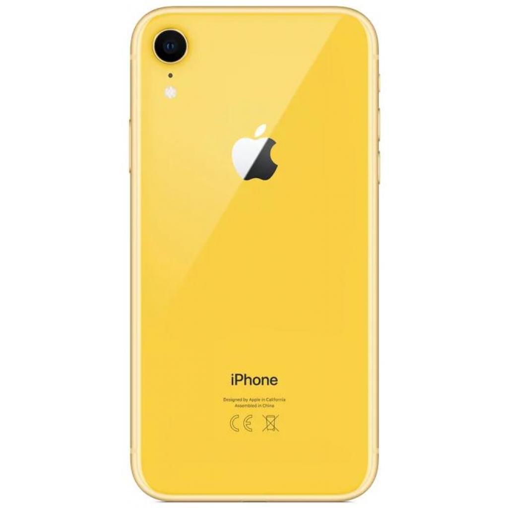 Мобильный телефон Apple iPhone XR 64Gb Yellow (MRY72FS/A) изображение 2