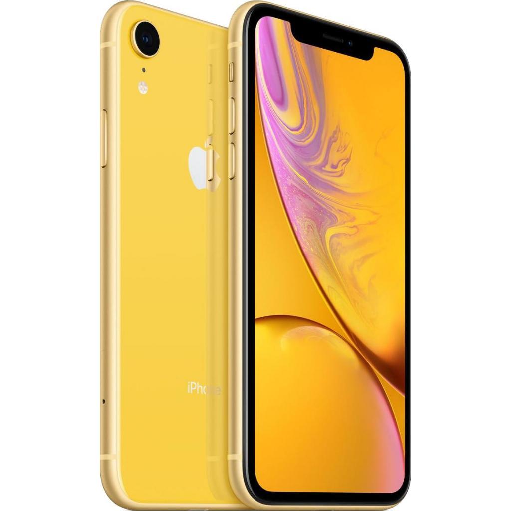 Мобильный телефон Apple iPhone XR 64Gb Yellow (MRY72FS/A) изображение 4