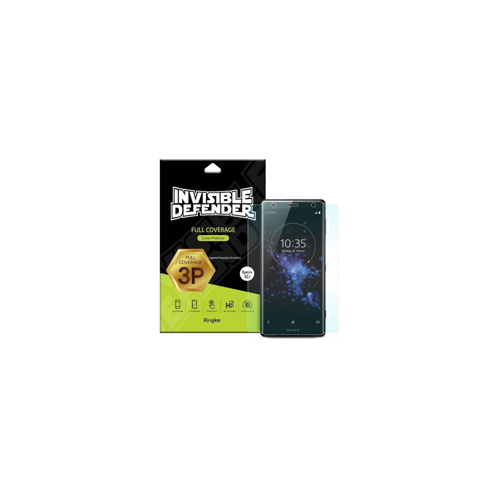 Пленка защитная Ringke для телефона Sony Xperia XZ2 Full Cover (RSP4455)