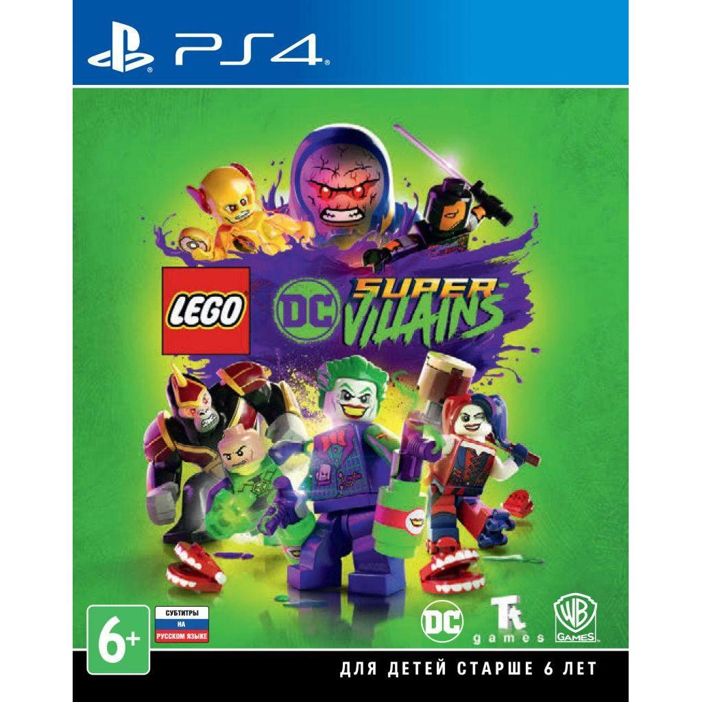 Игра SONY LEGO DC Super-Villains[Blu-Ray диск] PS4 (2216869)