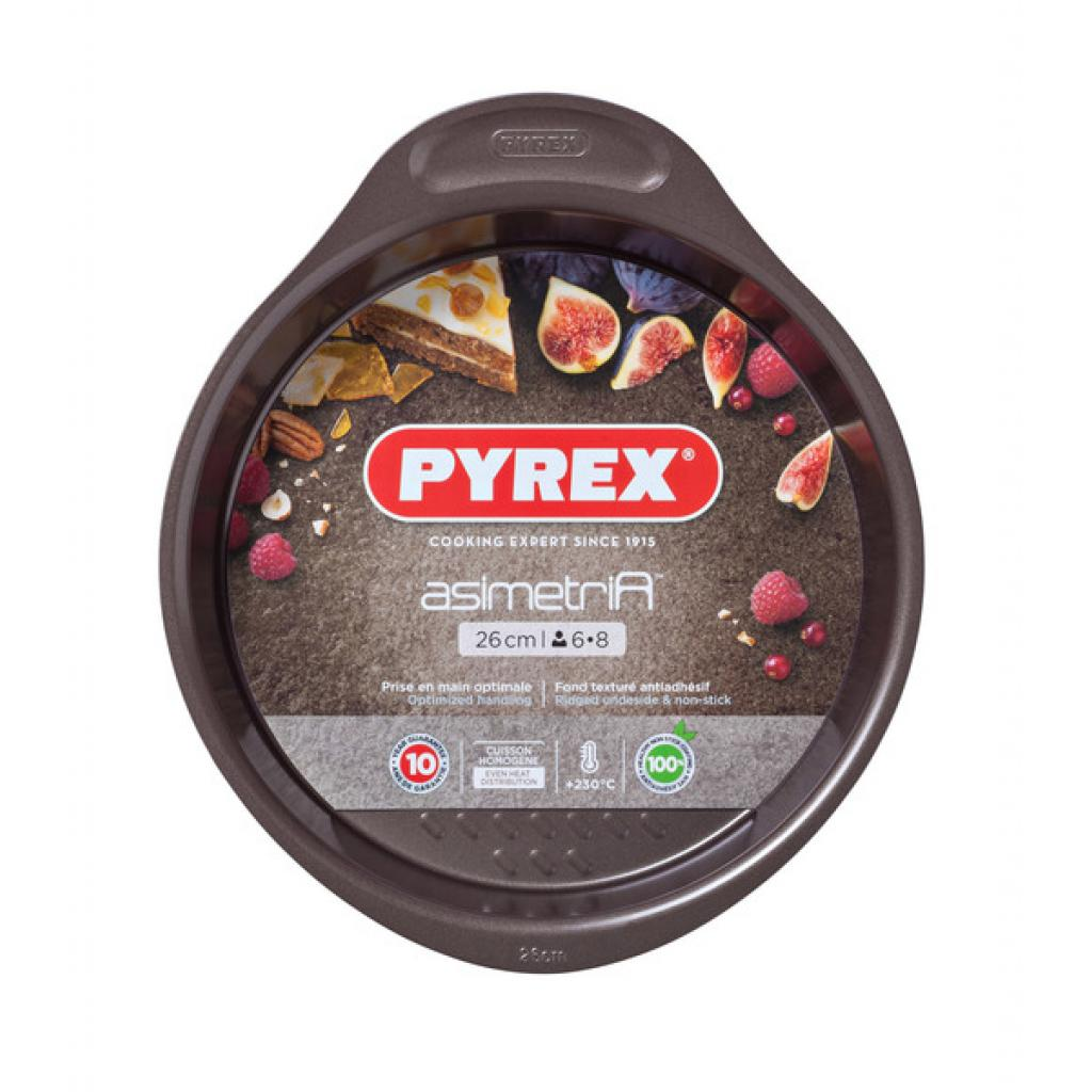 Форма для выпечки Pyrex Asimetria 26 см круглая (AS26BA0)