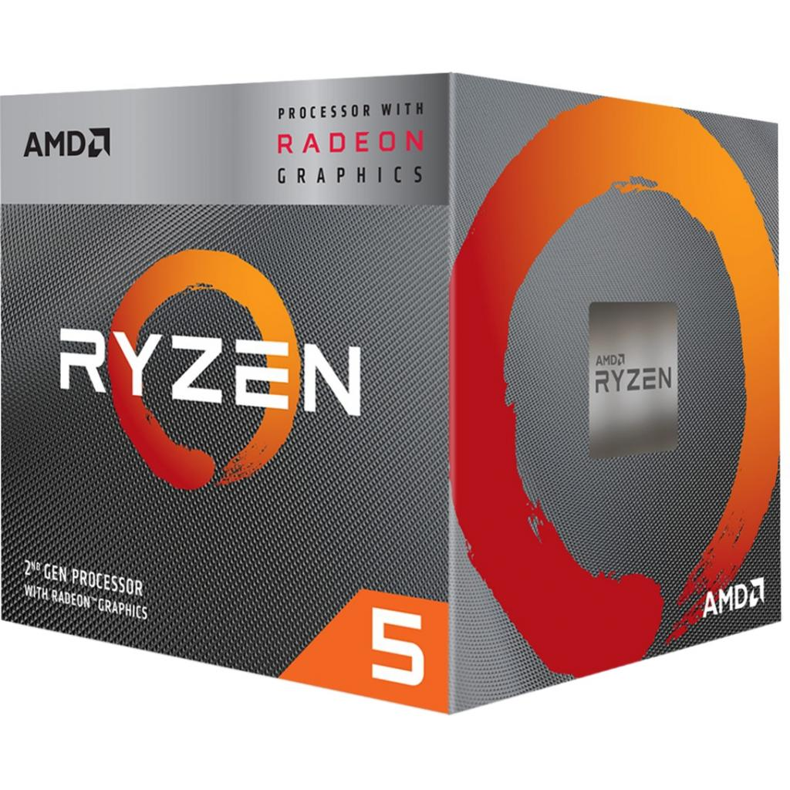 Процесор AMD Ryzen 5 3400G (YD3400C5FHMPK) зображення 2