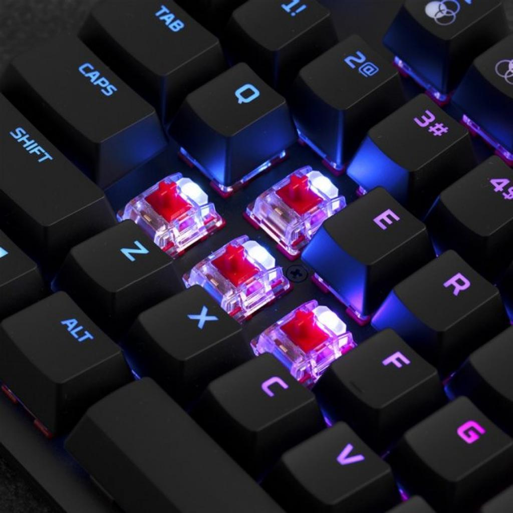 Клавіатура HyperX Alloy Origins Core HX Blue (HX-KB7BLX-RU) зображення 8