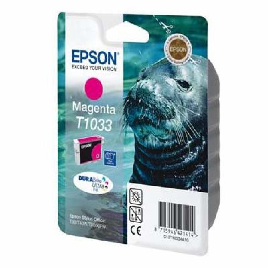 Картридж EPSON St T30/40W TX550W/510FN/600 magenta (C13T10334A10)