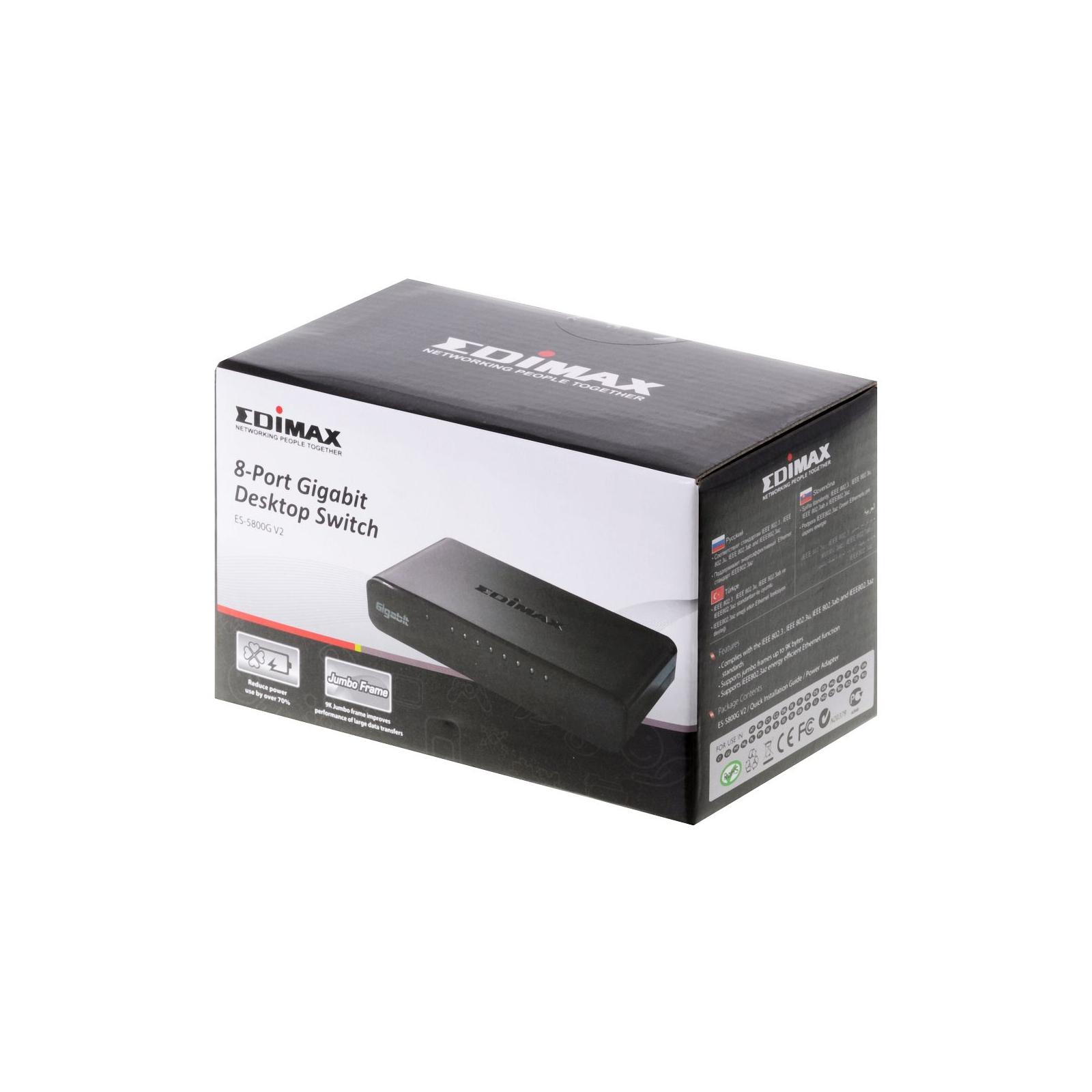 Коммутатор сетевой EDIMAX ES-5800G V2 изображение 3