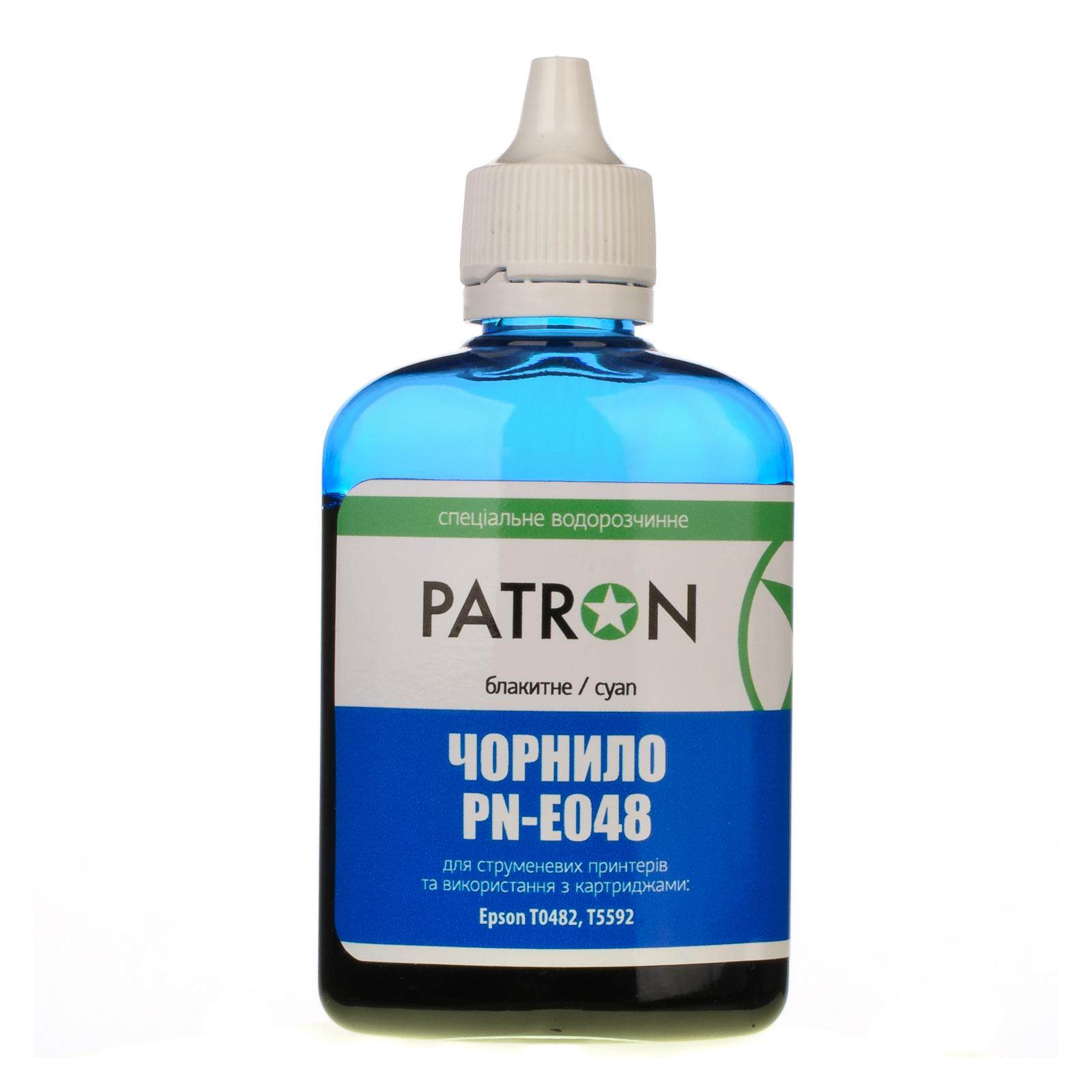 Чернила PATRON EPSON R220/90г CYAN/T0482/PN-E048-303 (I-PN-ET0482-090-C) изображение 2