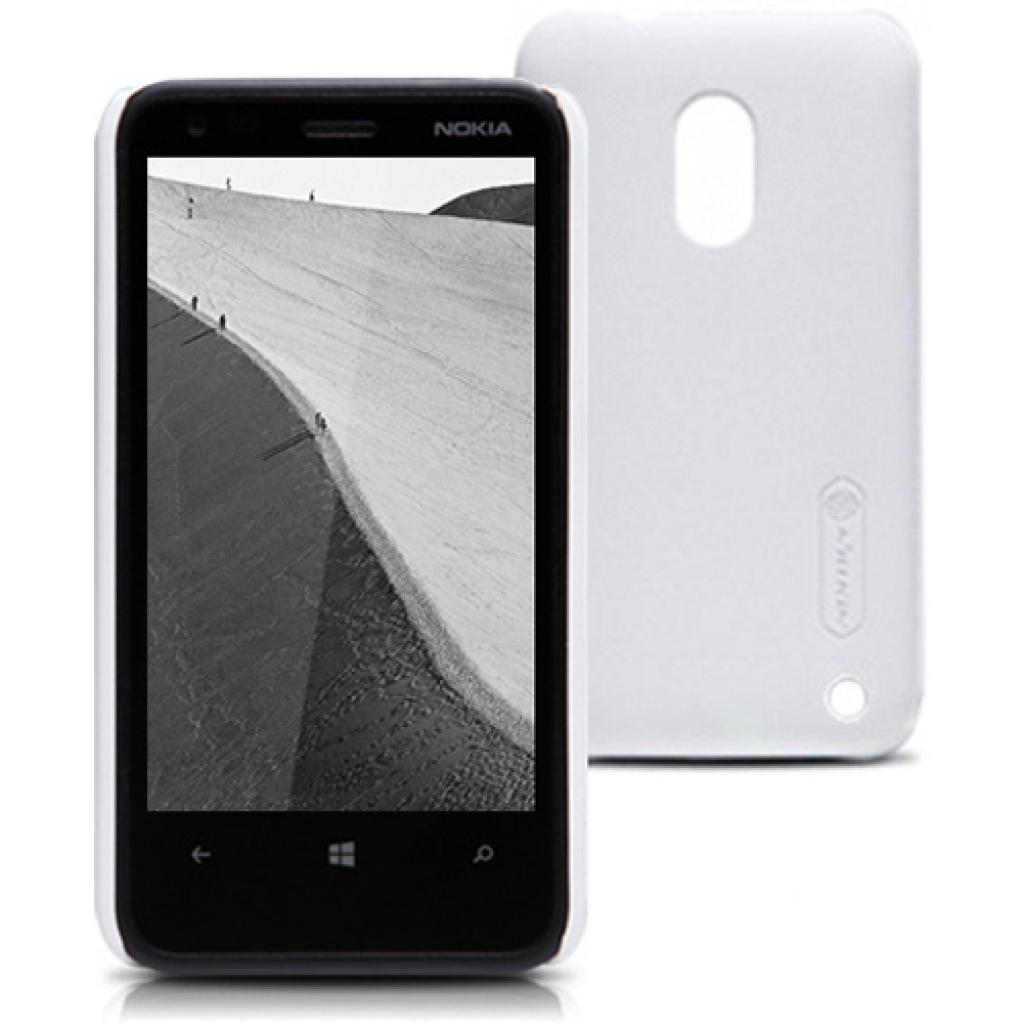 Чехол для моб. телефона NILLKIN для Nokia 620 /Super Frosted Shield/White (6065771)
