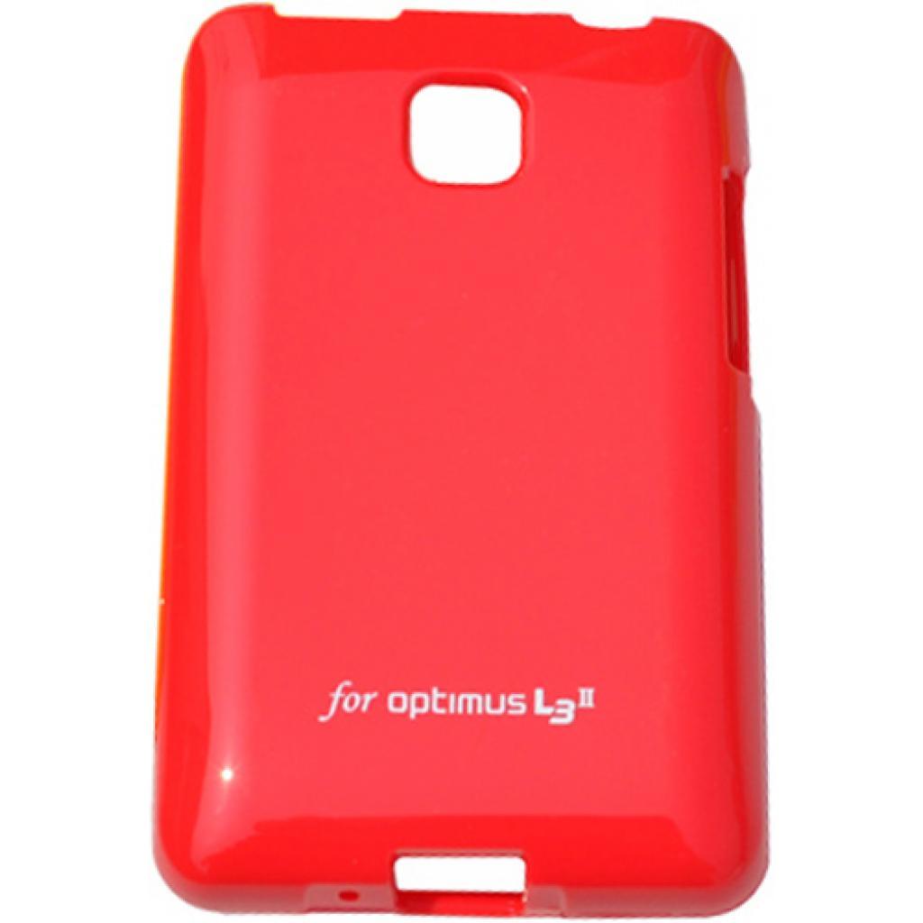 Чехол для моб. телефона VOIA для LG E425 Optimus L3II /Jelly/Red (6068163)