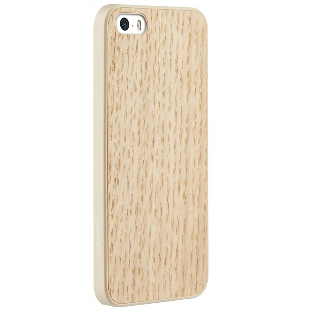 Чехол для моб. телефона OZAKI iPhone 5/5S O!coat 0.3+Wood White Oak (OC545WO) изображение 2