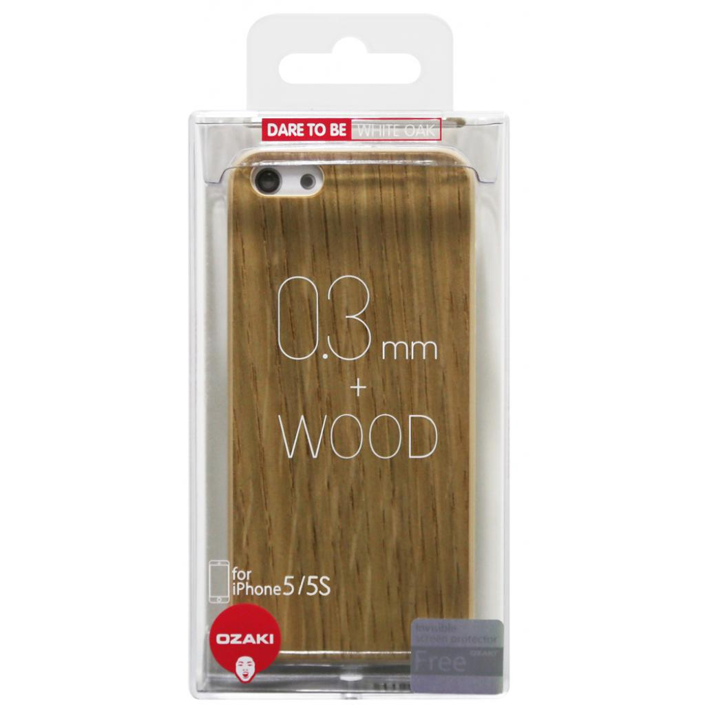 Чехол для моб. телефона OZAKI iPhone 5/5S O!coat 0.3+Wood White Oak (OC545WO) изображение 4