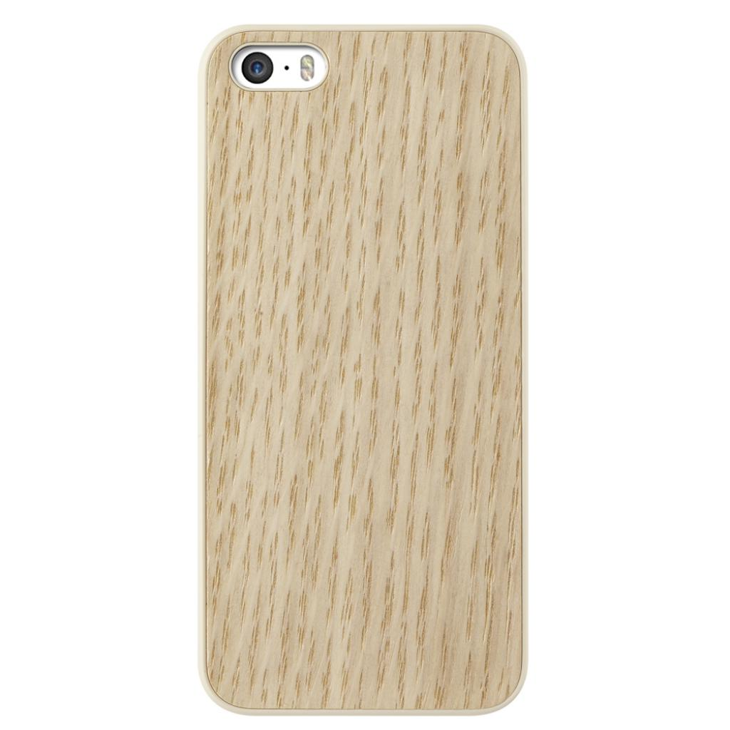 Чехол для моб. телефона OZAKI iPhone 5/5S O!coat 0.3+Wood White Oak (OC545WO)