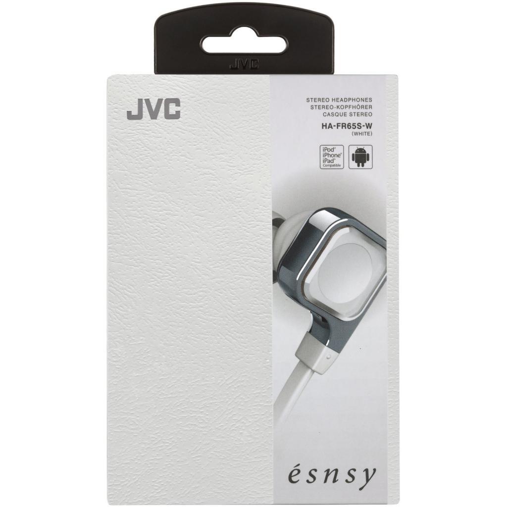 Наушники JVC Esnsy HA-FR65S White (HA-FR65S-W-E) изображение 5