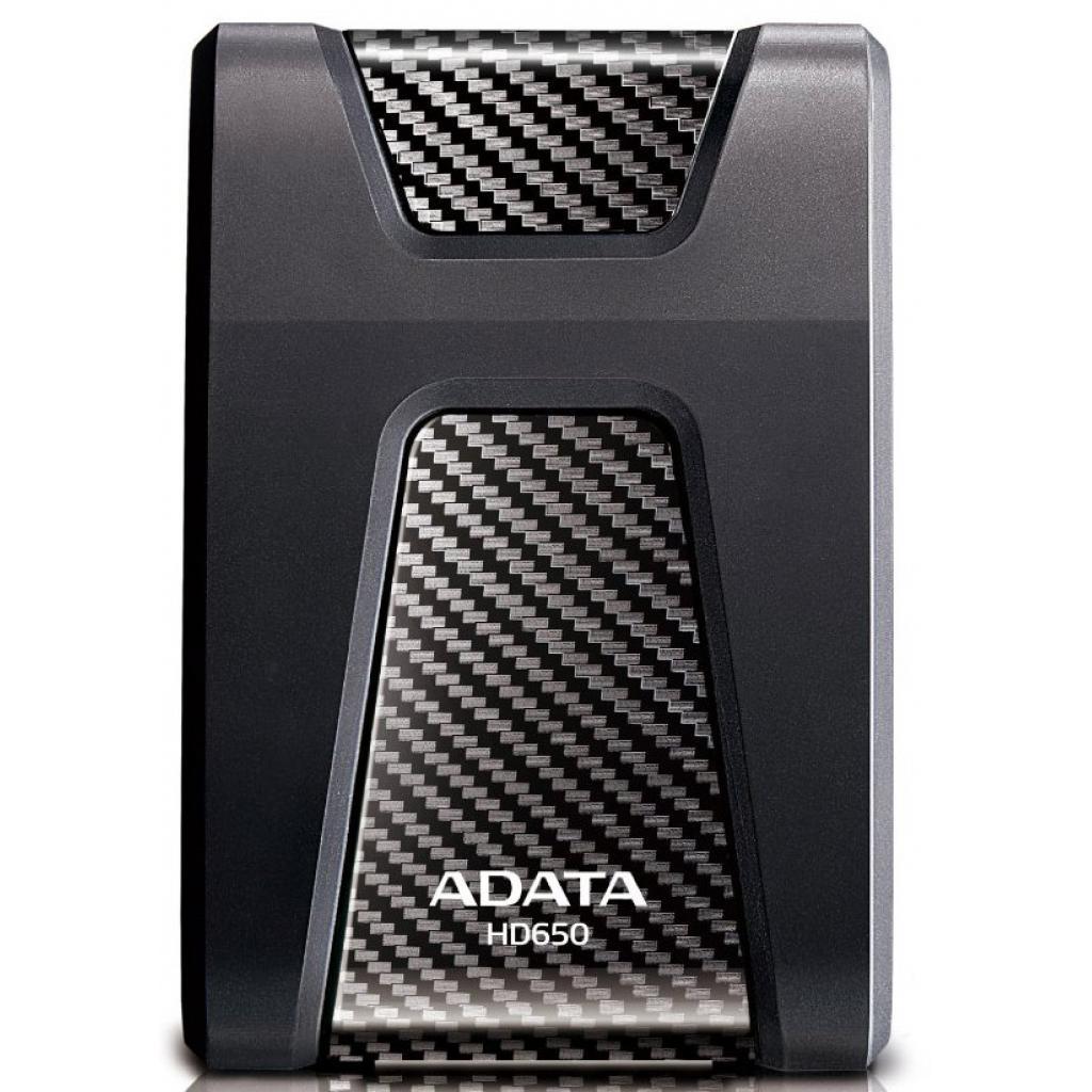 """Внешний жесткий диск 2.5"""" 500GB ADATA (AHD650-500GU3-CBK) изображение 2"""