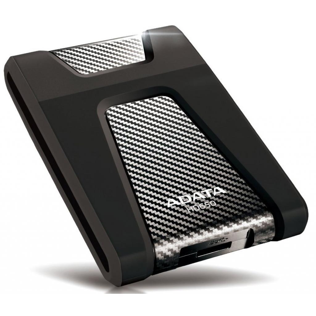 """Внешний жесткий диск 2.5"""" 500GB ADATA (AHD650-500GU3-CBK) изображение 3"""