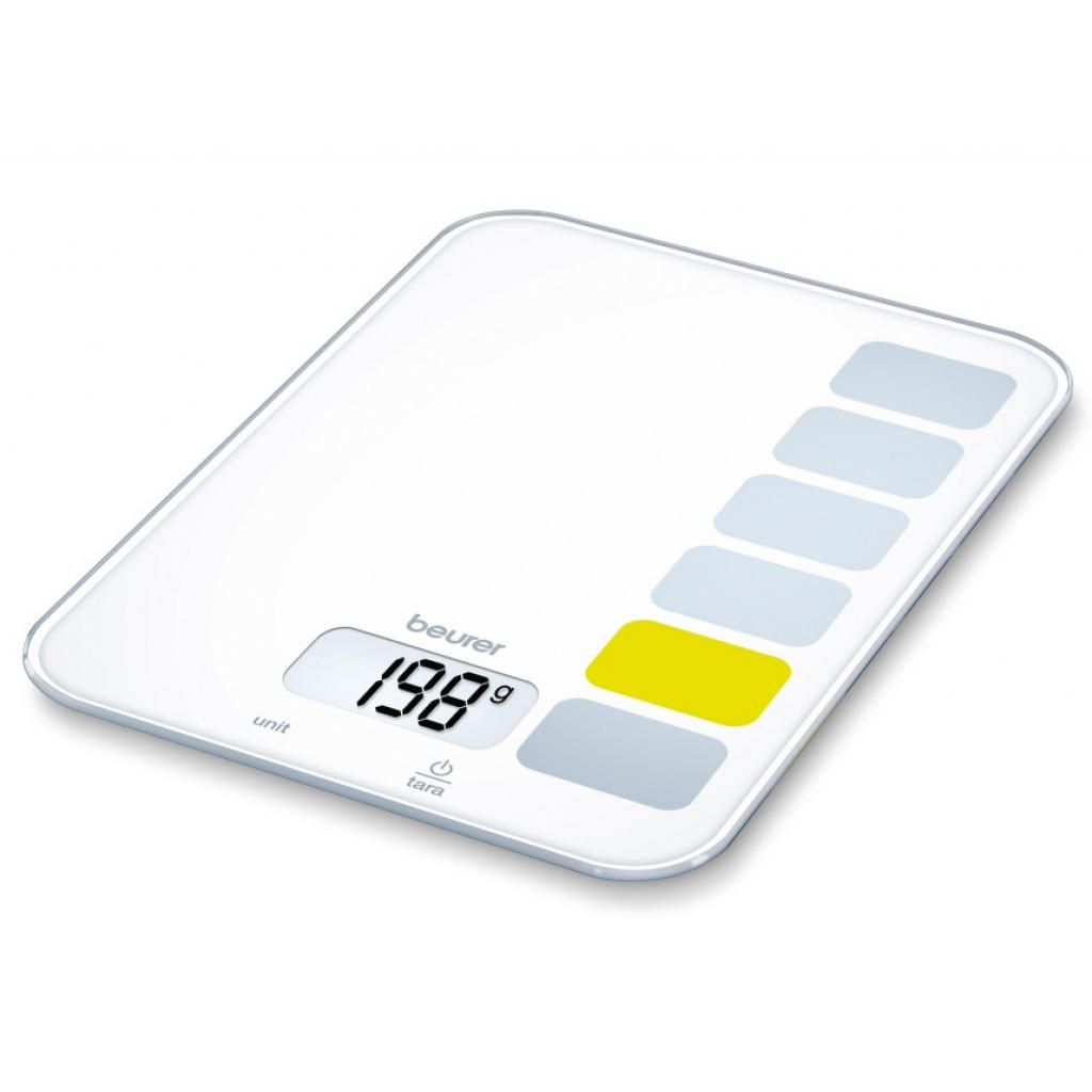 Весы кухонные BEURER KS 19 white (4211125/704.08/7)