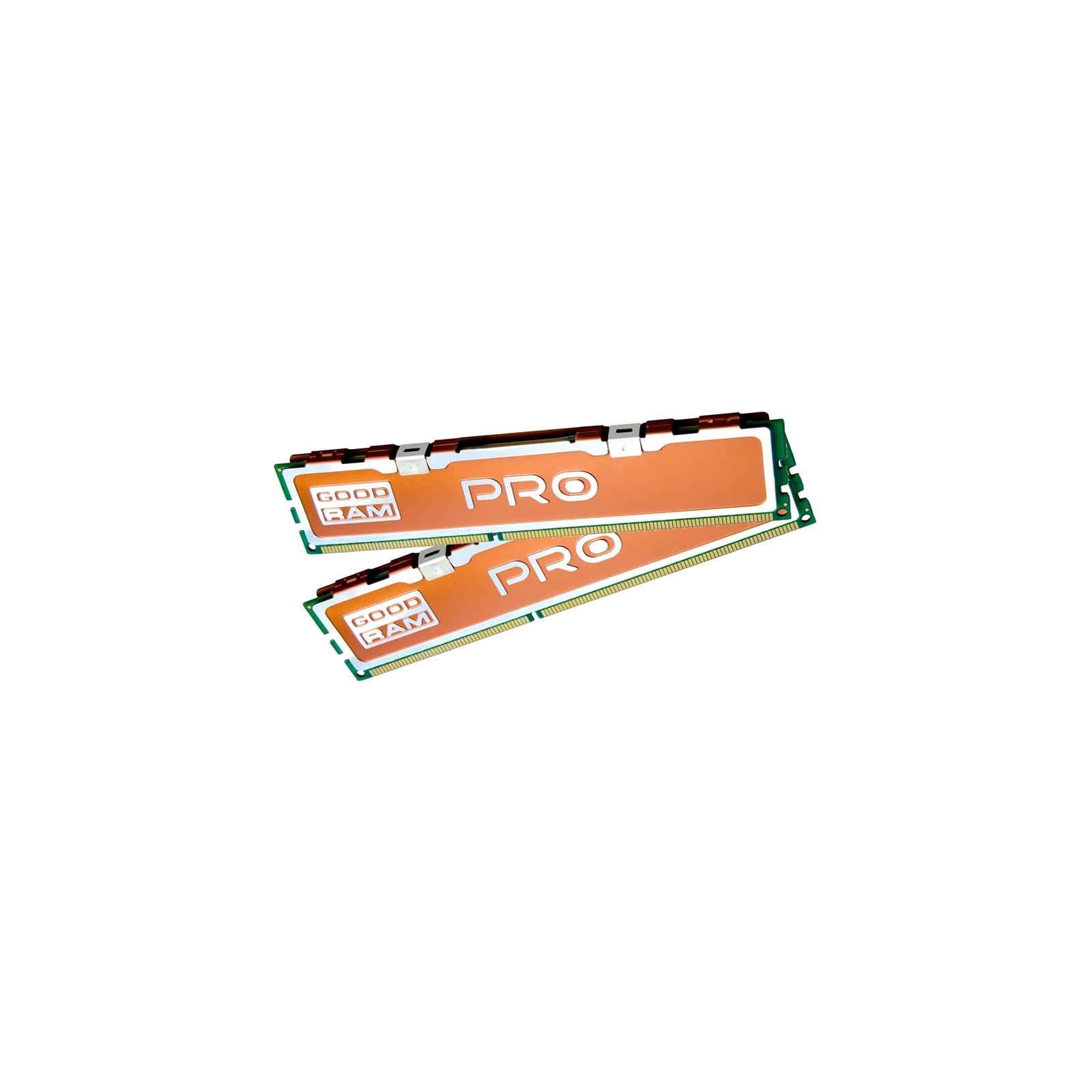 Модуль памяти для компьютера DDR3 8Gb (2x4GB) 2400 MHz PRO GOODRAM (GP2400D364L11S/8GDC) изображение 3