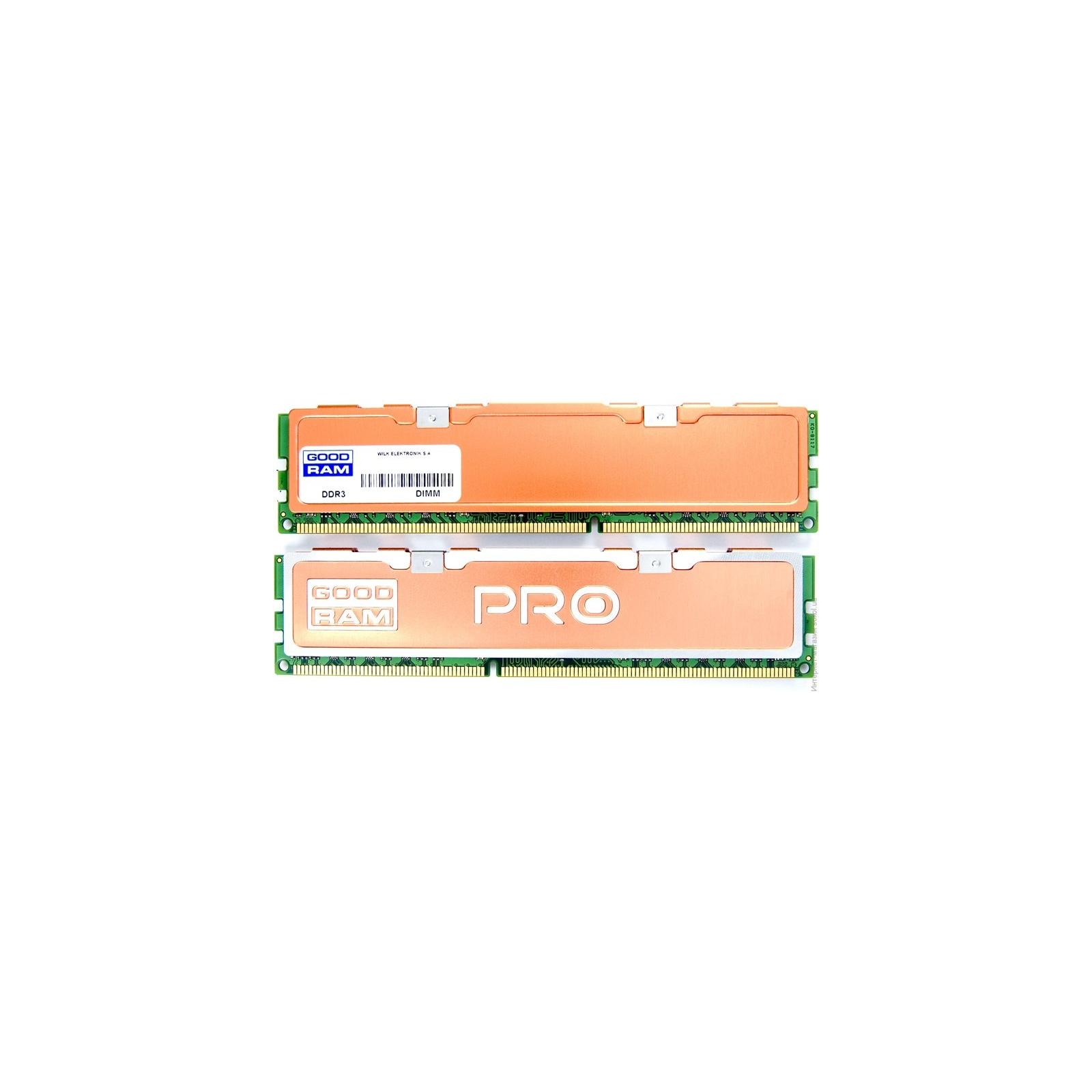 Модуль памяти для компьютера DDR3 8Gb (2x4GB) 2400 MHz PRO GOODRAM (GP2400D364L11S/8GDC)