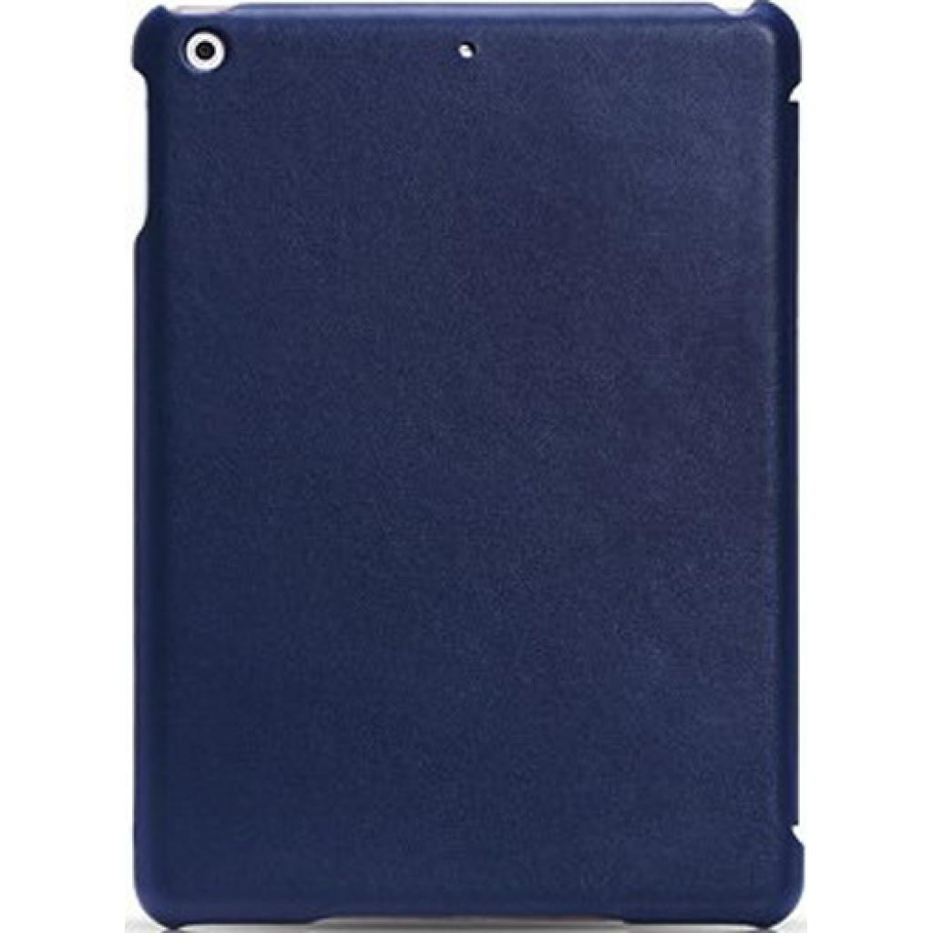 Чехол для планшета i-Carer iPad Mini Retina Ultra thin genuine leather series blue (RID794blue) изображение 2