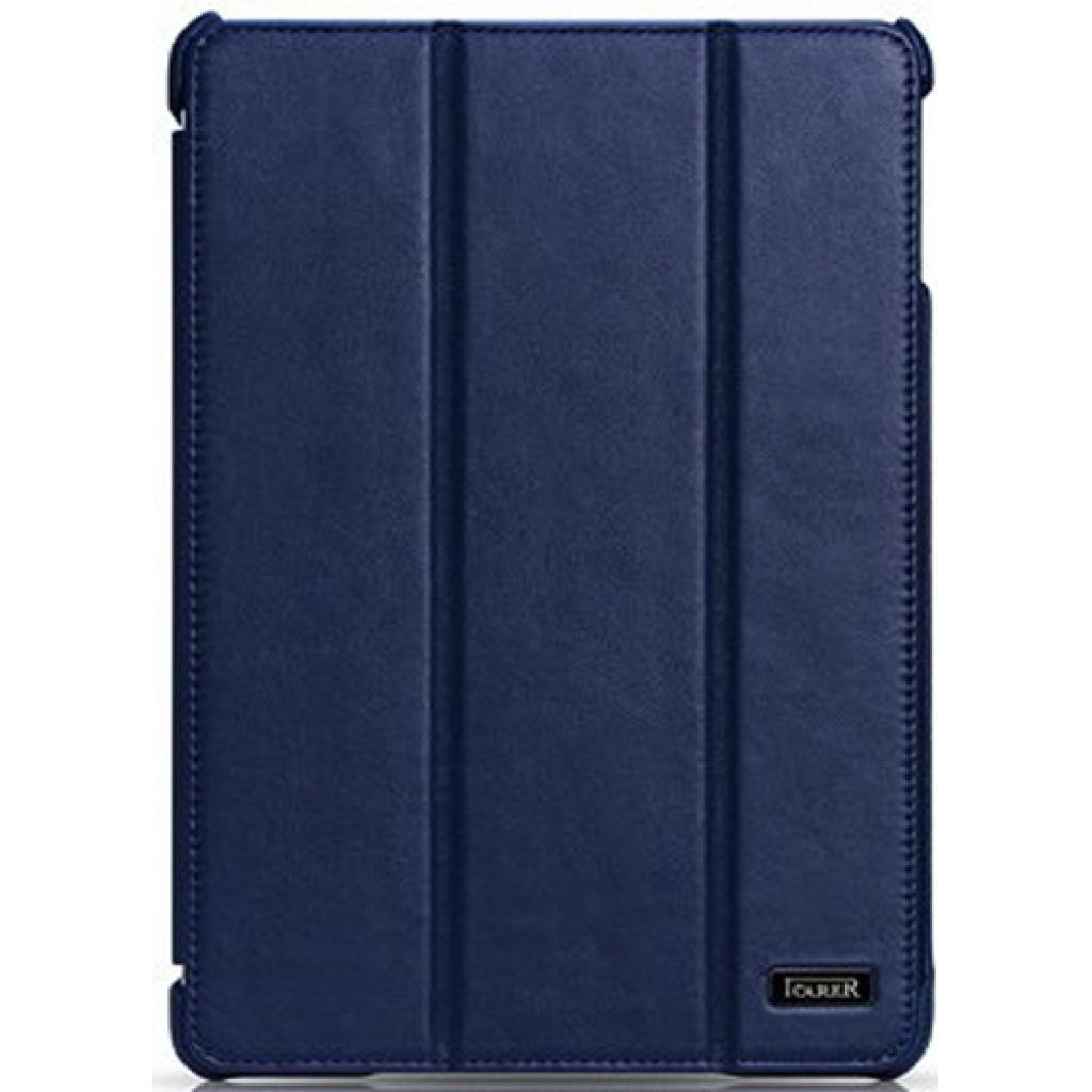 Чехол для планшета i-Carer iPad Mini Retina Ultra thin genuine leather series blue (RID794blue)