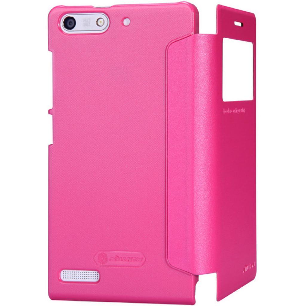 Чехол для моб. телефона NILLKIN для Huawei G6 /Spark/ Leather/Red (6147108) изображение 5
