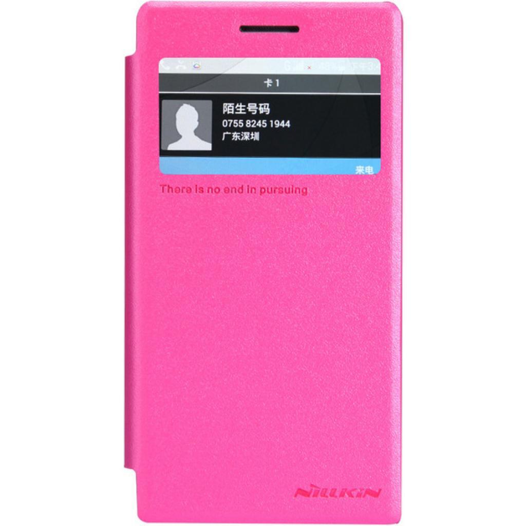 Чехол для моб. телефона NILLKIN для Huawei G6 /Spark/ Leather/Red (6147108)