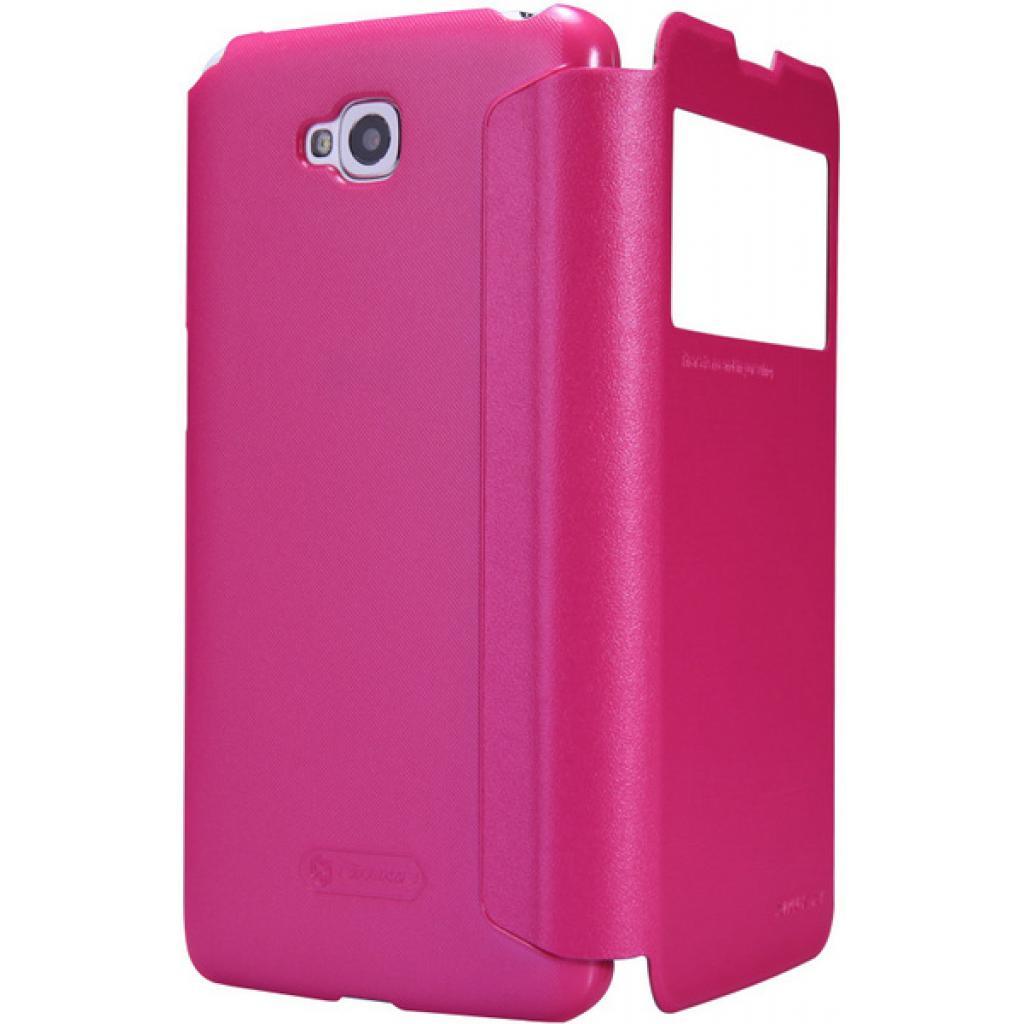 Чехол для моб. телефона NILLKIN для LG Optimus G Pro Lite /Spark/ Leather/Red (6147151) изображение 3
