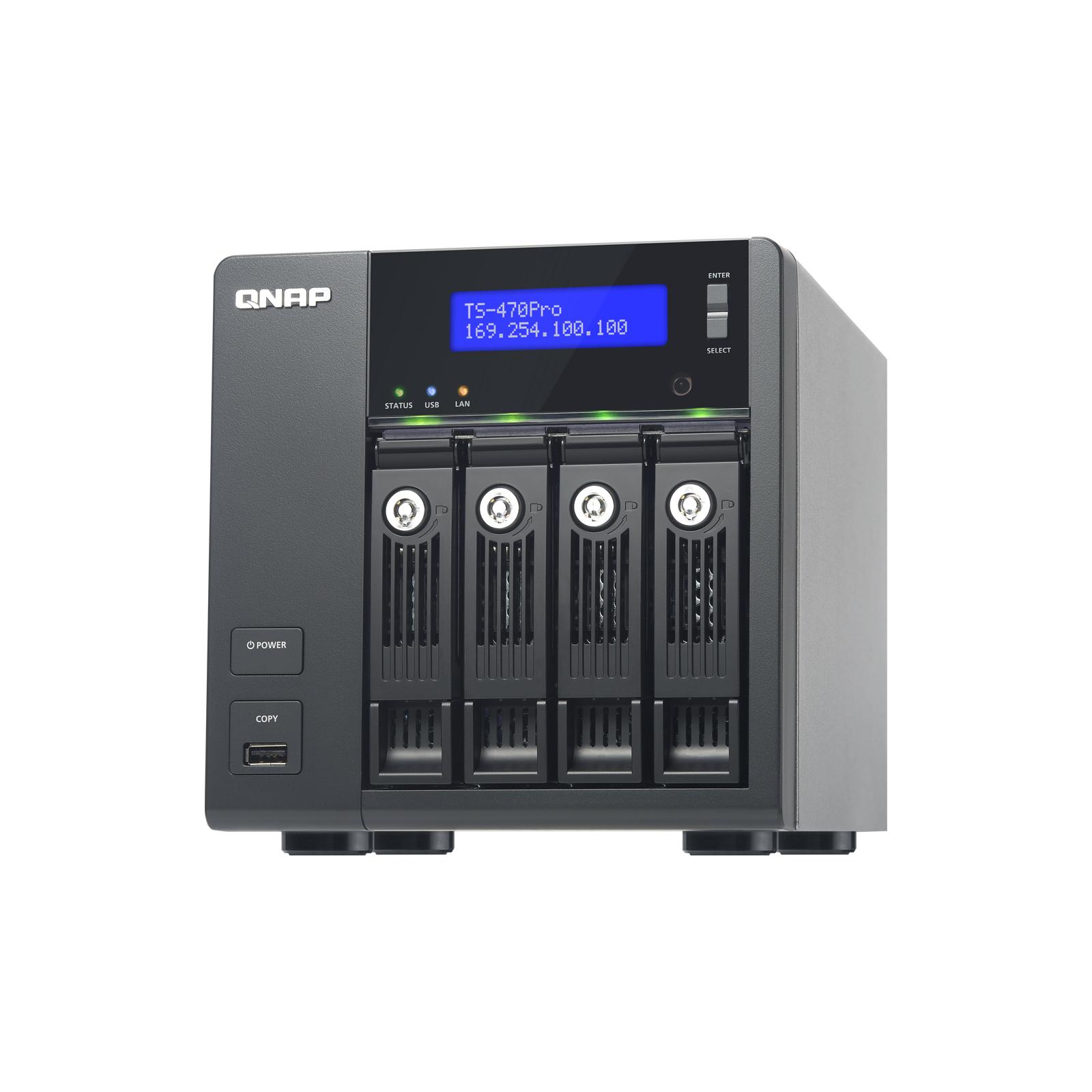 NAS QNap TS-470Pro