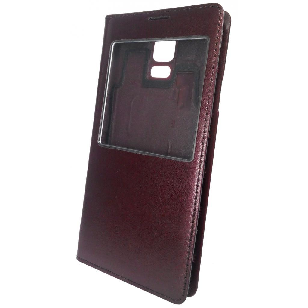 Чехол для моб. телефона GLOBAL для Samsung G900 Galaxy S V (коричневый) (1283126458811) изображение 2