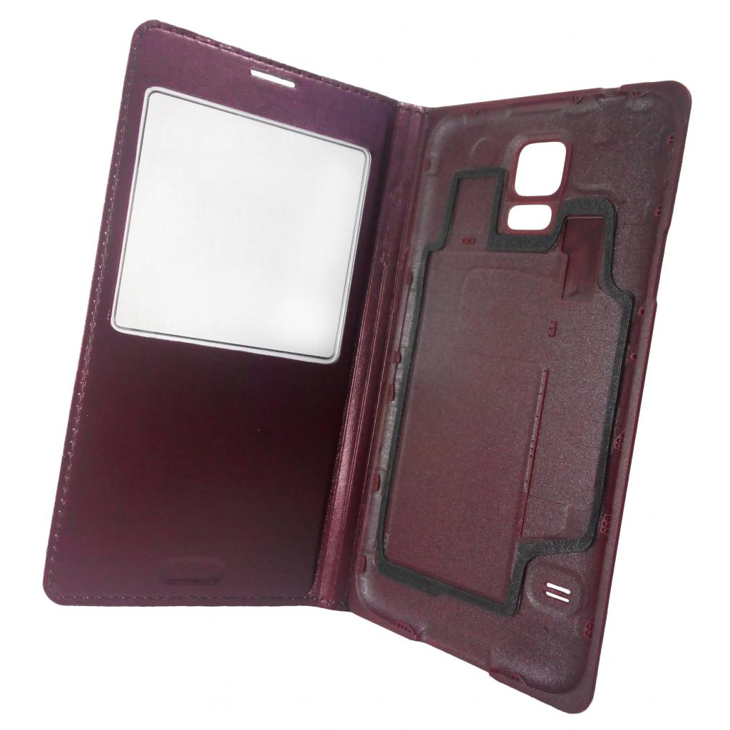Чехол для моб. телефона GLOBAL для Samsung G900 Galaxy S V (коричневый) (1283126458811)