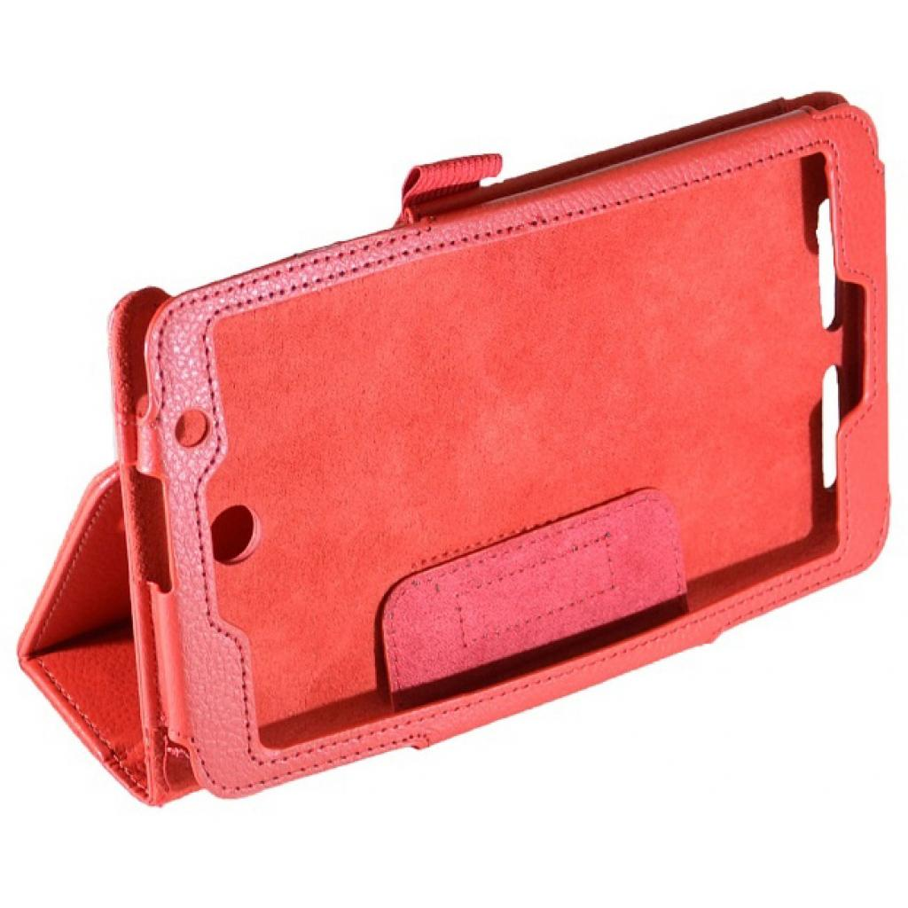 "Чехол для планшета Pro-case 7"" Asus MeMOPad HD 7 ME176 red (ME176r) изображение 3"
