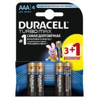 Батарейка Duracell AAA TURBO MAX LR03 * 4(3+1) (81367902)