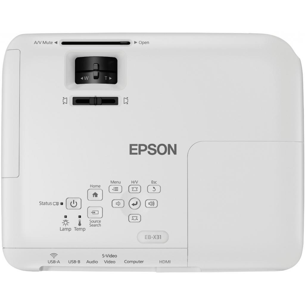 Проектор EPSON EB-X31 (V11H720040) изображение 6