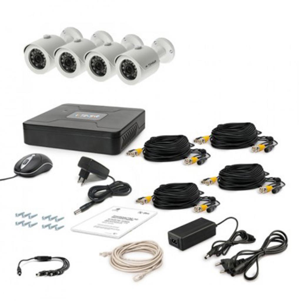 Комплект видеонаблюдения Tecsar AHD 4OUT (6364)
