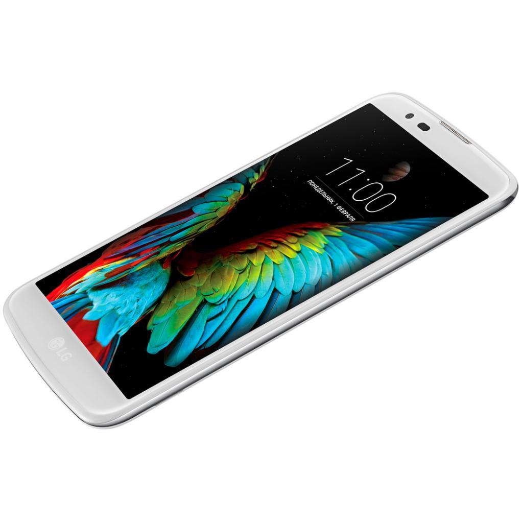 Мобильный телефон LG K430 (K10 LTE) White (LGK430ds.ACISWH) изображение 4