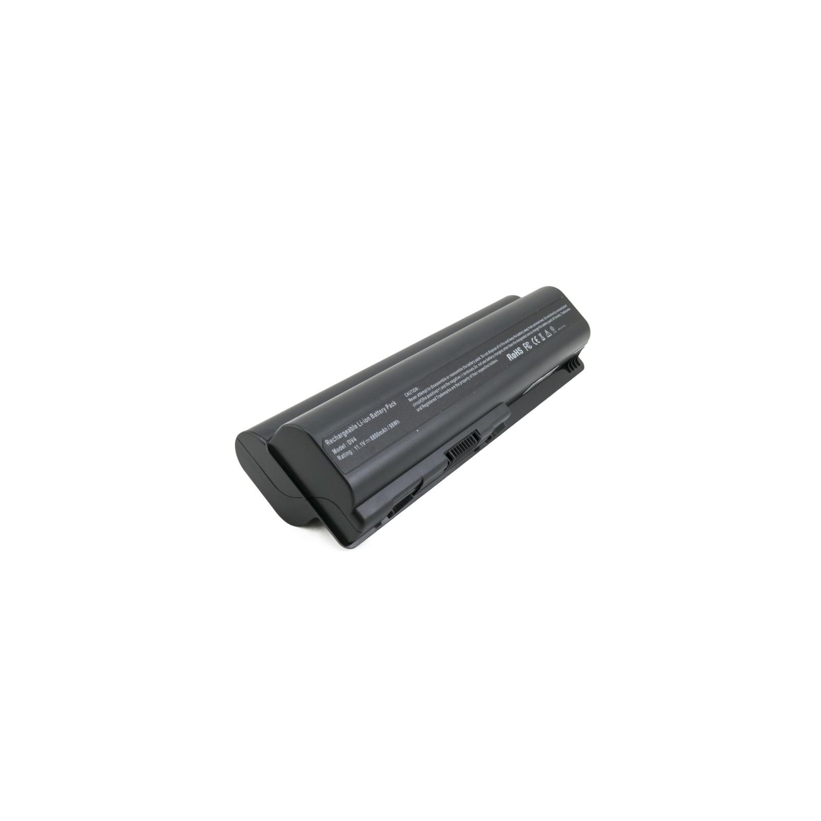 Аккумулятор для ноутбука HP Pavilion DV4 (HSTNN-DB73) 8800 mAh EXTRADIGITAL (BNH3945) изображение 2
