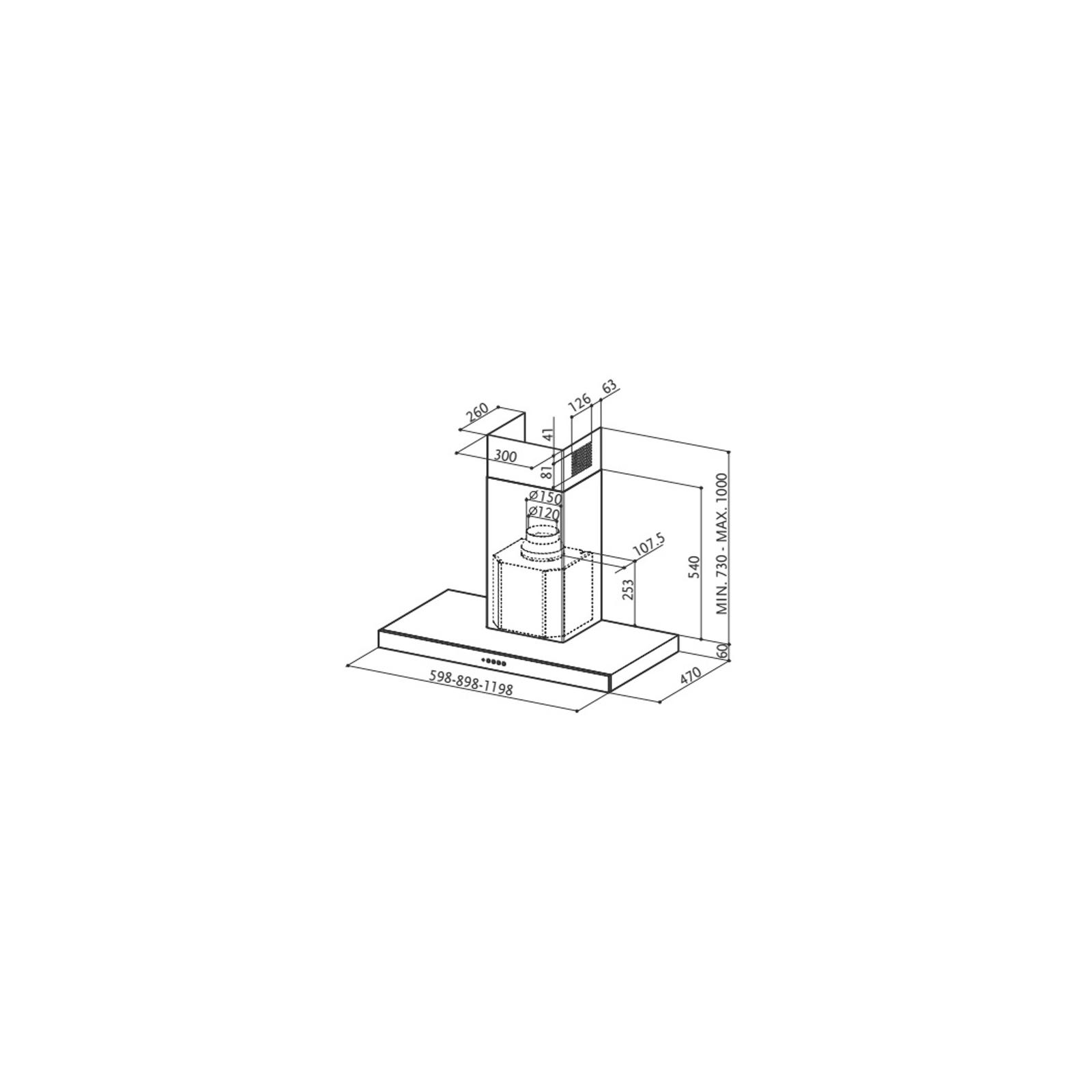 Вытяжка кухонная FABER STILO/SP X A90 изображение 2