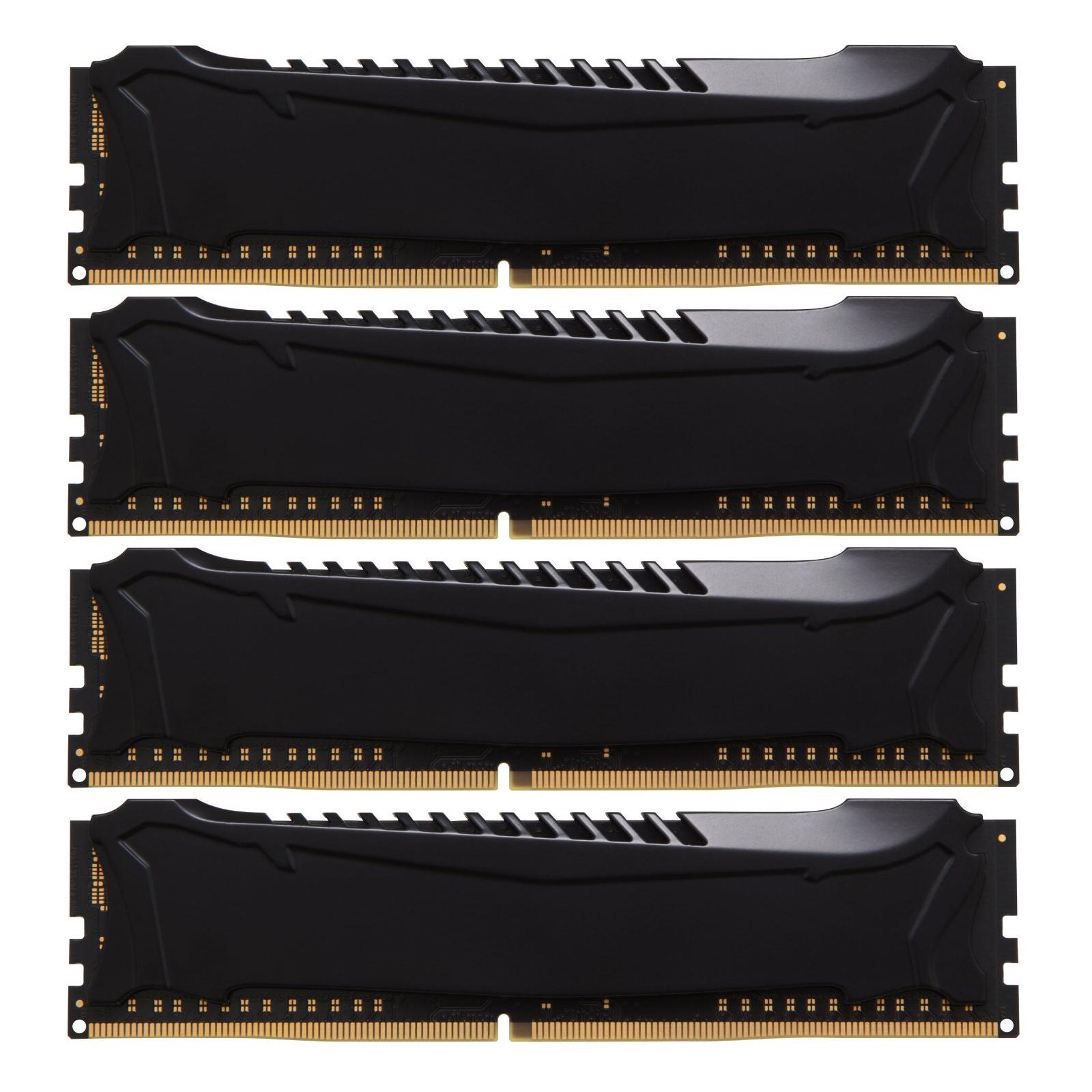 Модуль памяти для компьютера DDR4 32GB (4x8GB) 2400 MHz Savage Blak Kingston (HX424C12SB2K4/32) изображение 3