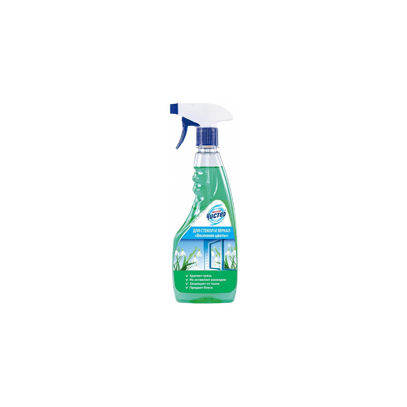 Моющая жидкость для уборки Мистер Чистер для стекол Весенние цветы 500 мл (4820026413334)