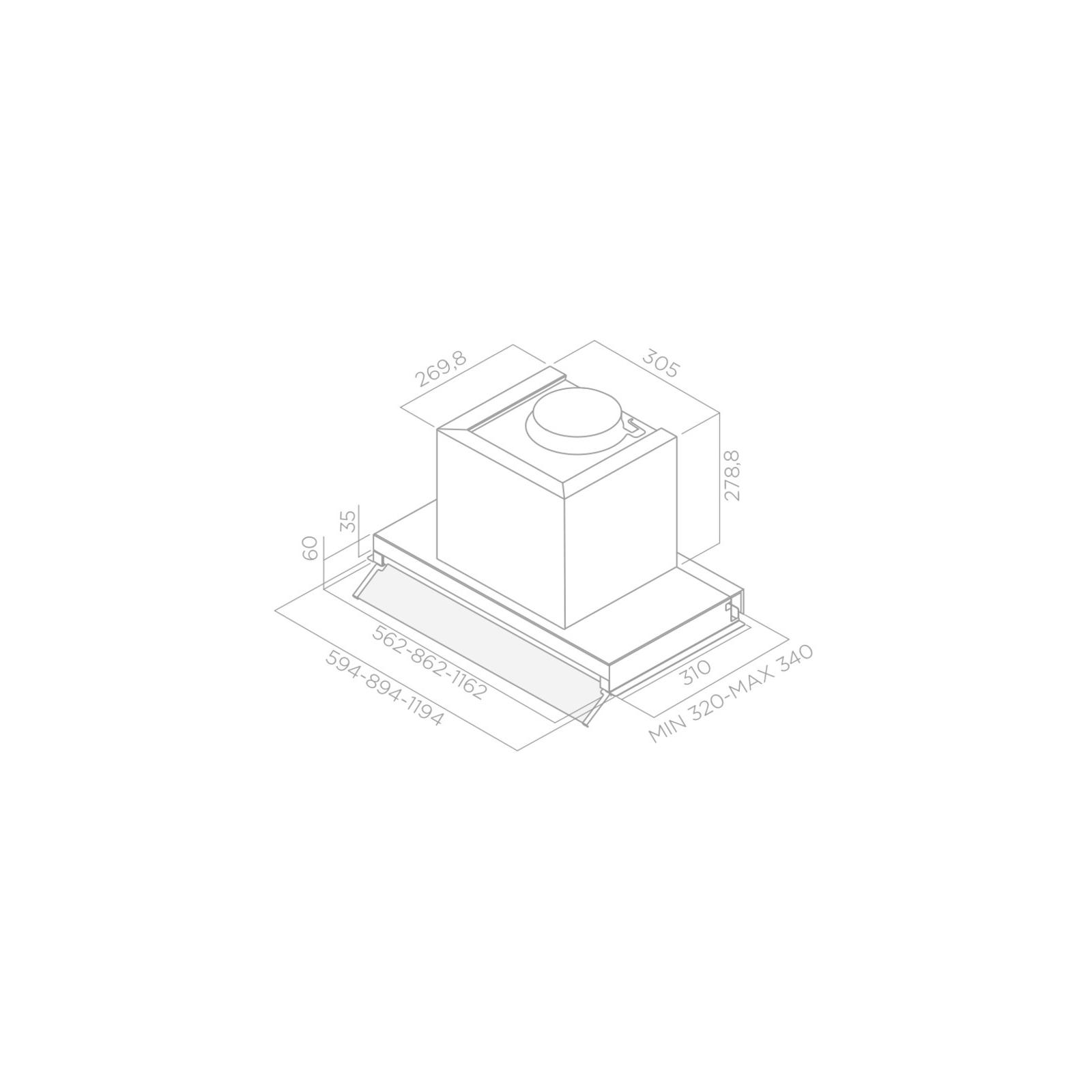 Вытяжка кухонная ELICA BOX IN PLUS IXGL/A/120 изображение 2