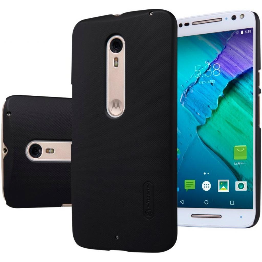 Чехол для моб. телефона NILLKIN для Moto X Style - Super Frosted Shield (Black) (6279926) изображение 4
