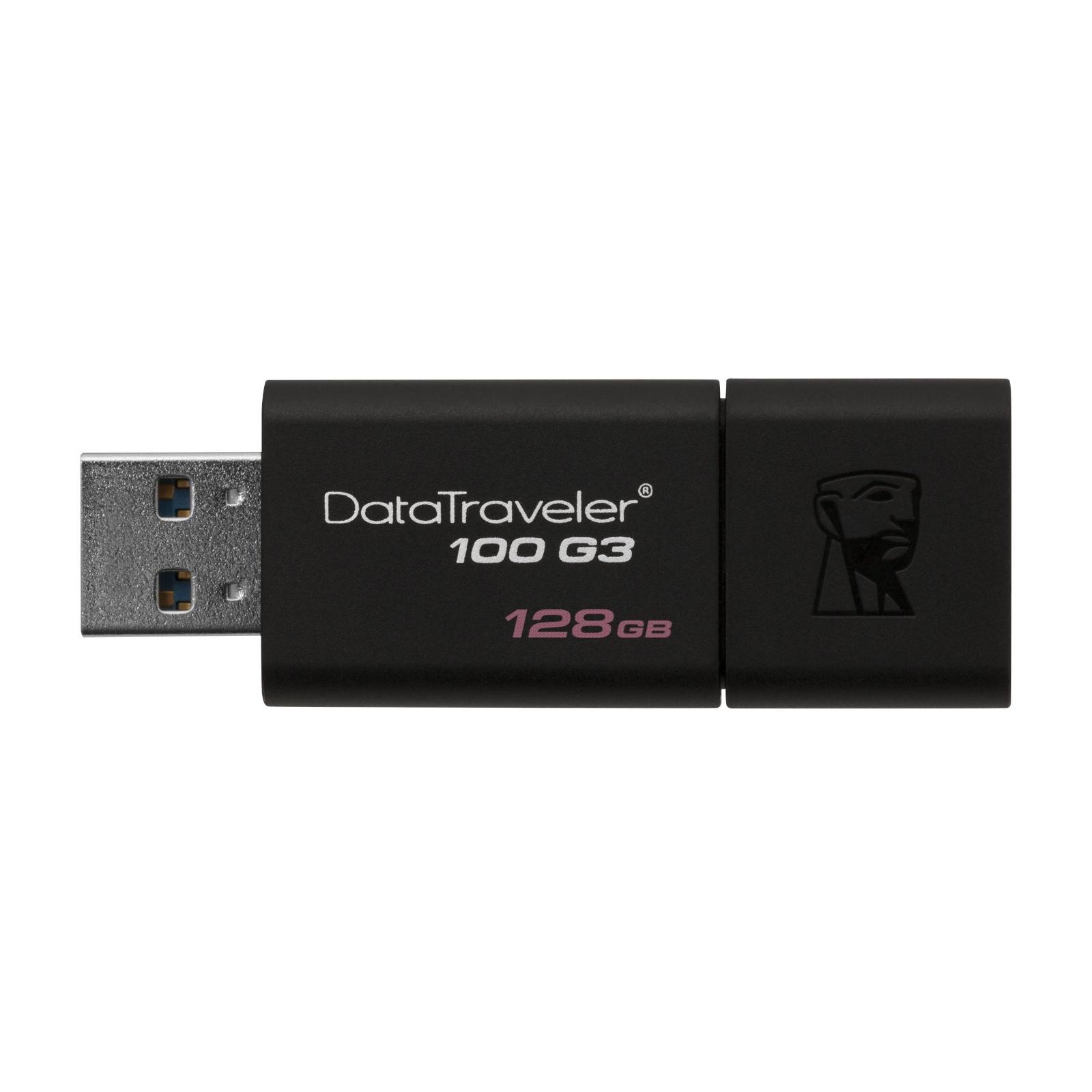 USB флеш накопитель Kingston 32Gb DataTraveler 100 Generation 3 USB3.0 (DT100G3/32GB) изображение 4