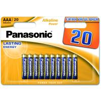 Батарейка PANASONIC AAA LR03 Alkaline Power * 20 (LR03REB/20BW)